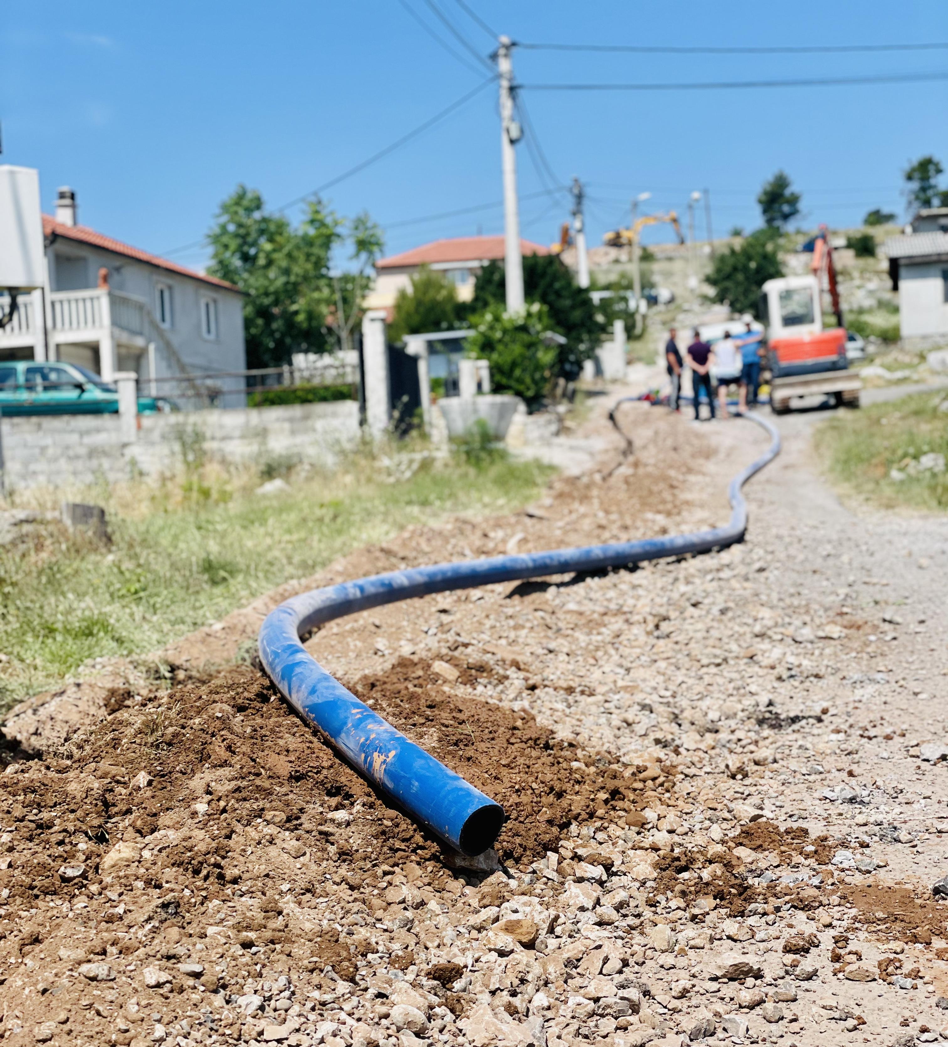 Počela izgradnja novog vodovoda za naselje na Dajbabskom brdu